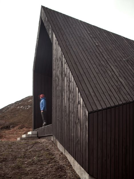 black wood via dezeen 2